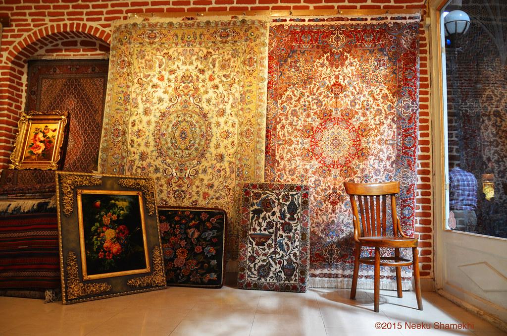 A Carpet Shop In Tabriz Grand Bazaar 3 365 3 3