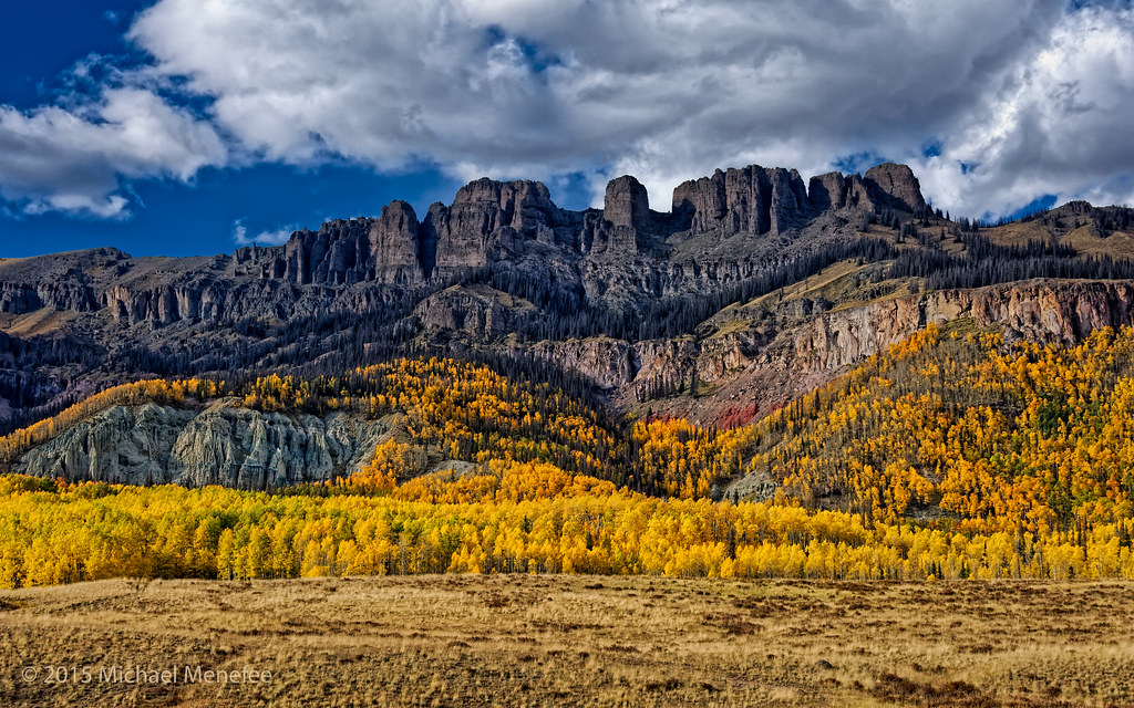 Free Fall Color Wallpaper Peak Aspen Scenery In The Colorado Rockies Here S One Of