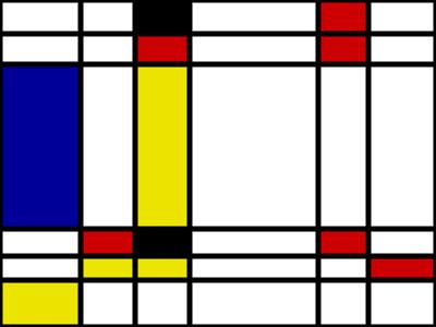 Entry7 Fake Mondrian Created With The Mondrian Generator Www J