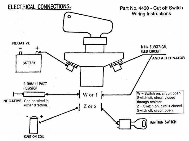 Boat Kill Switch Wiring Diagram Wiring Diagram