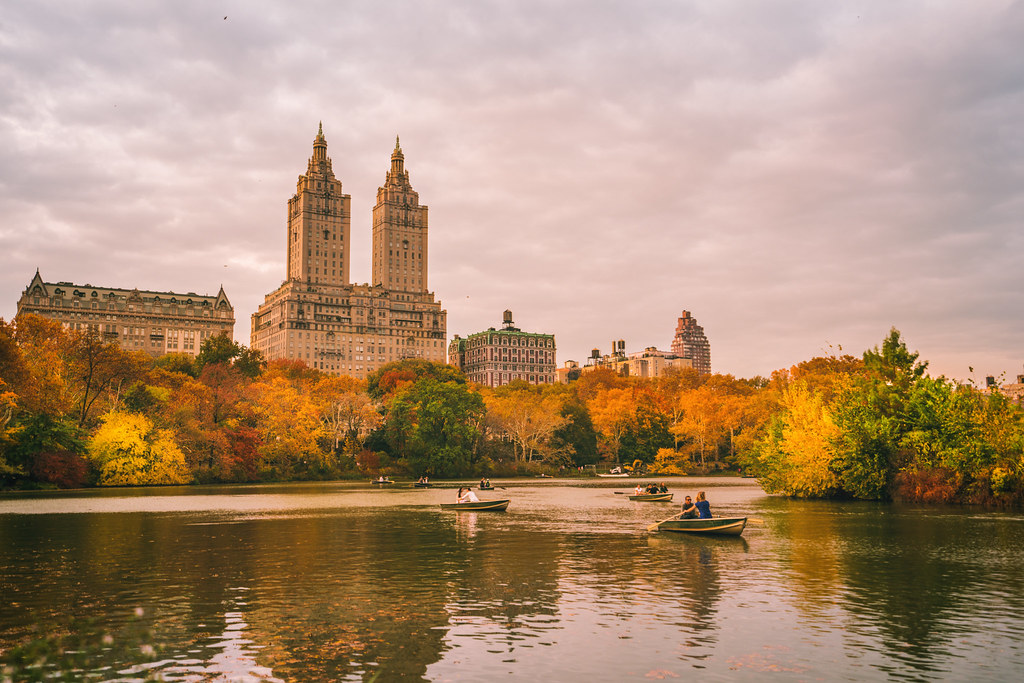 4k Central Park In The Fall Wallpaper New York City Autumn Central Park West Fall Foliage Flickr