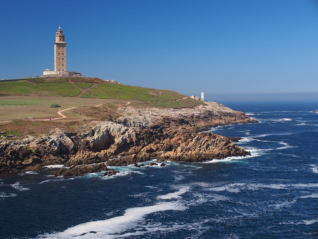 3d House Wallpaper Lighthouse Torre De H 233 Rcules Tower Of Hercules A