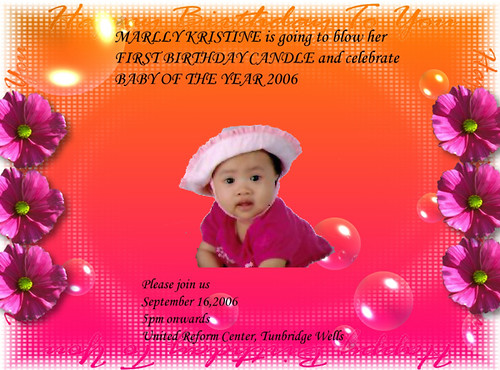 Birthday Card Invitation Sample No 11 perfect color combi\u2026 Flickr - Birthday Card Sample