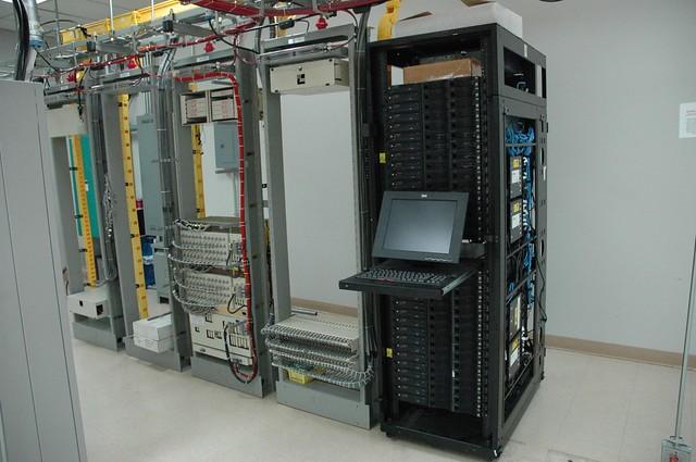 Railhead First Rack Of Ibm Rack Servers With Monitor