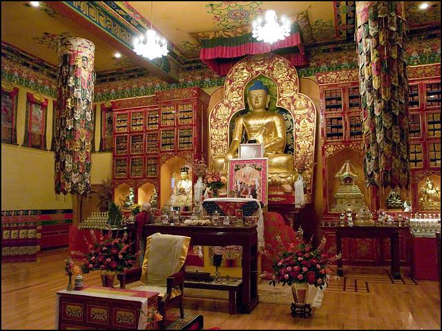 3d Mountain Wallpaper Karma Triyana Dharmachakra Tibetan Buddhist Monastery