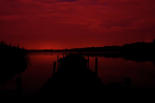 Quote Quote Wallpaper A Step Into The Dark Red Night A Special Night At Lake