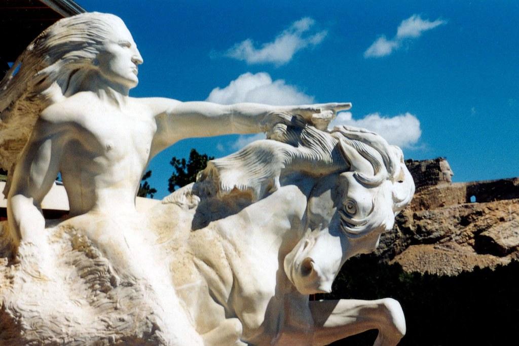 3d Crazy Wallpaper Crazy Horse Monument The Memorial In Progress 1999 In