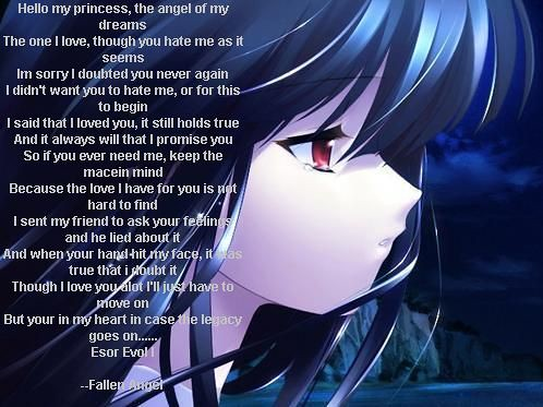 Girl Boy Sad Love Wallpaper Anime Poem Rose Flickr