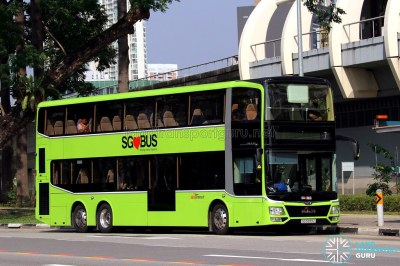 MAN A95 (Lion's City DD | 3-Door) - SBS Transit | SG5999Z on… | Flickr