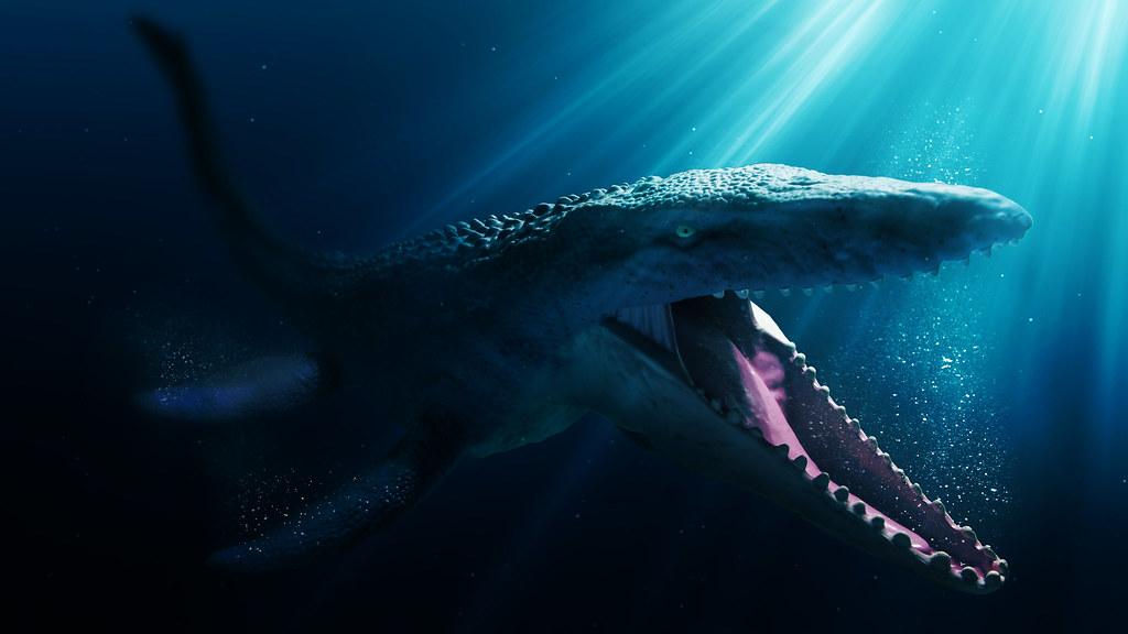 Wallpaper Brick 3d Jurassic World Mattel Mosasaurus Been A While Since I Ve