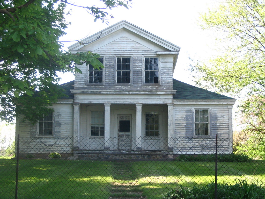 Greek Revival Farmhouse Architecture Forlorn Greek Revival Farmhouse In Dixboro Mi Douglas