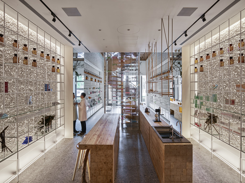 Vives Azulejos Molecure Pharmacy Made By Waterfrom Design Vives Azulejos Y