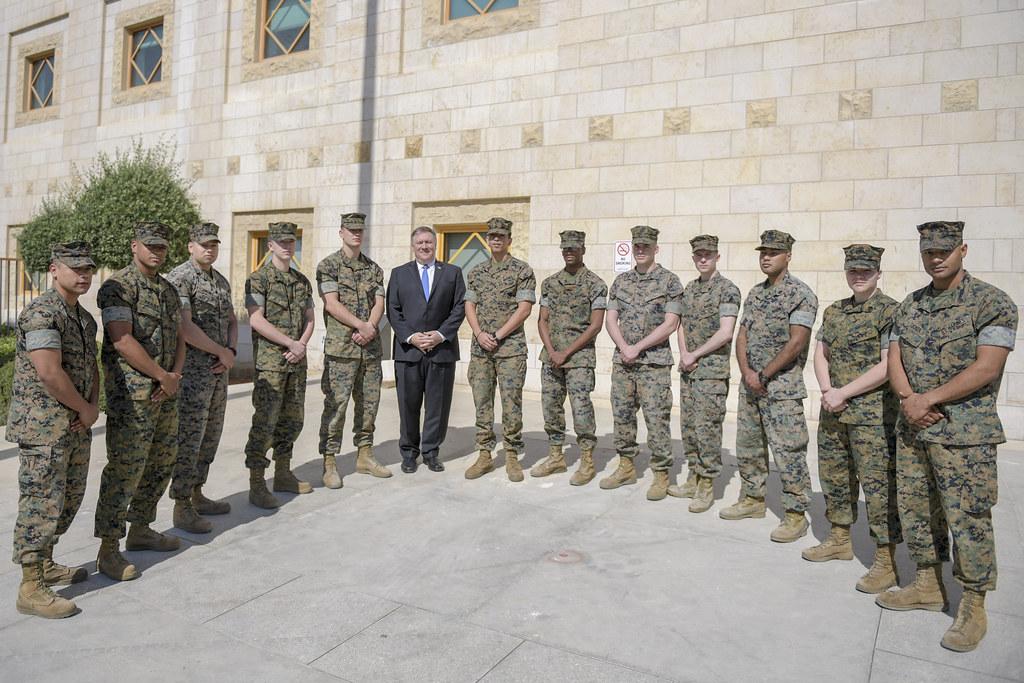 Secretary Pompeo Thanks US Marine Security Guards at US\u2026 Flickr
