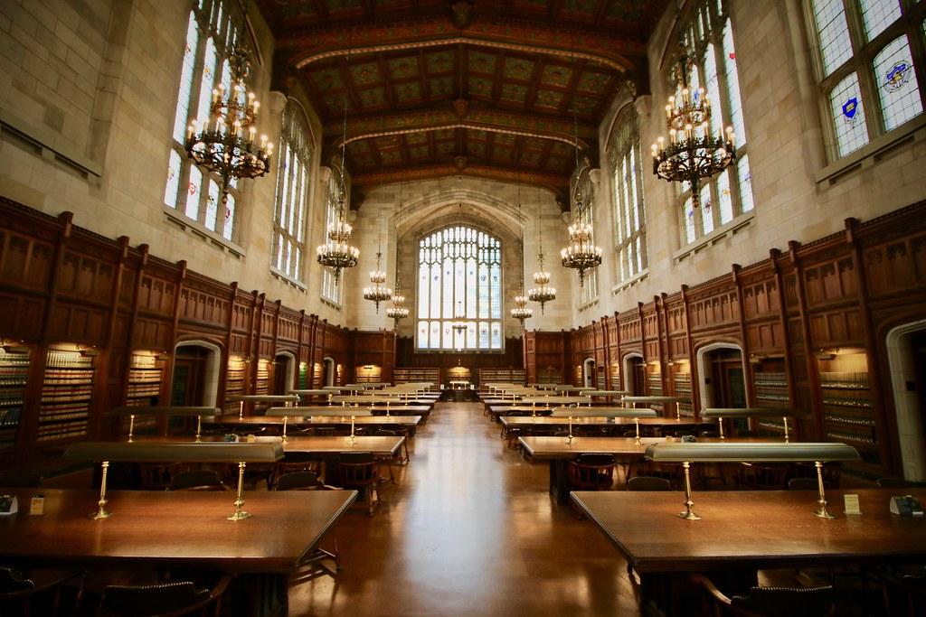 University of Michigan Law Library Nathan Magyar Flickr