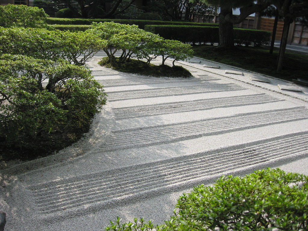 Office Zen Garden The Zen Garden At Ginkakuji Kyoto Japan One Of The