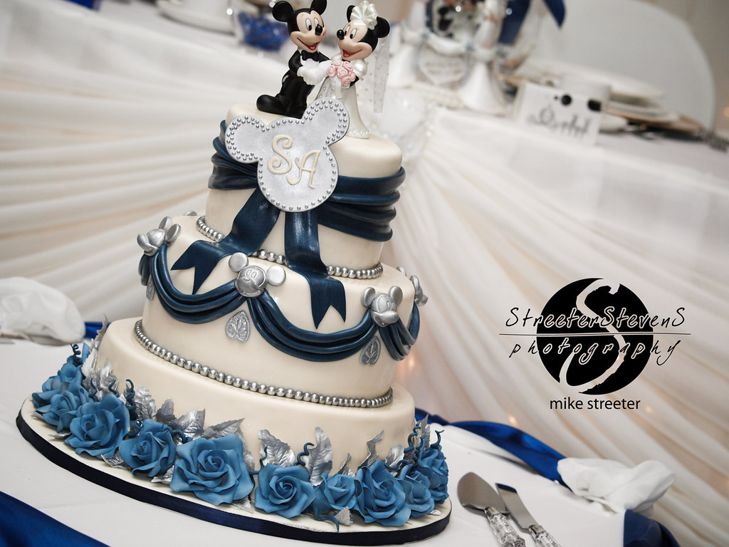 Fullsize Of Disney Wedding Cake