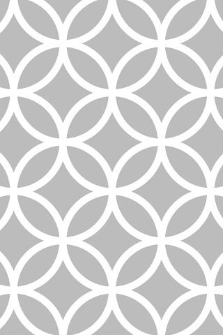 3d Geometric Shapes Wallpaper White Circle Pattern P Unk Ave Flickr