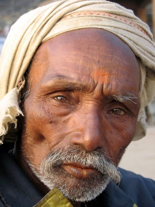 Medium Of Old Man Face