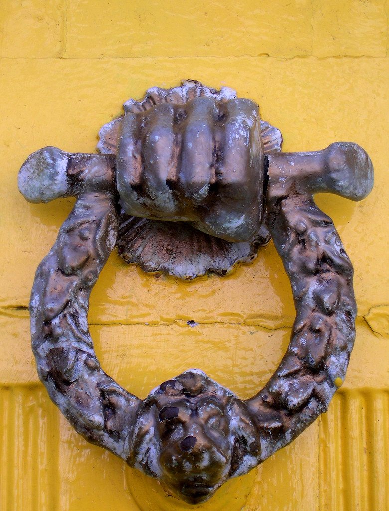 Turtle Door Knocker Fist Fist Shaped Knocker Near Dane John Canterbury Richard