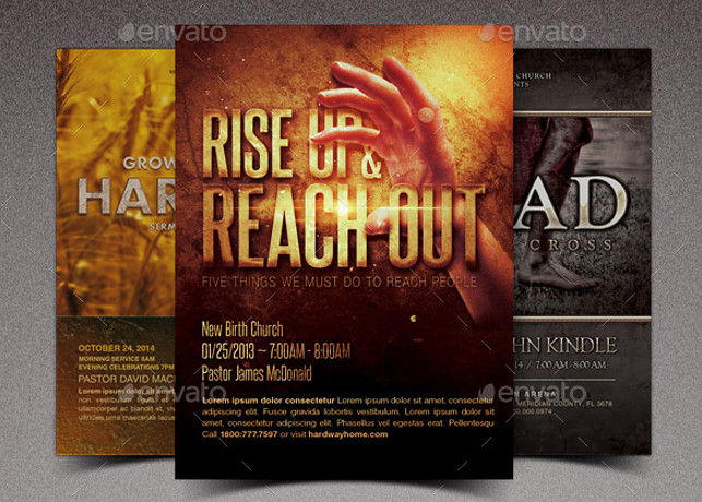 Rise Church Marketing Flyer Template Bundle Rise Church Ma\u2026 Flickr