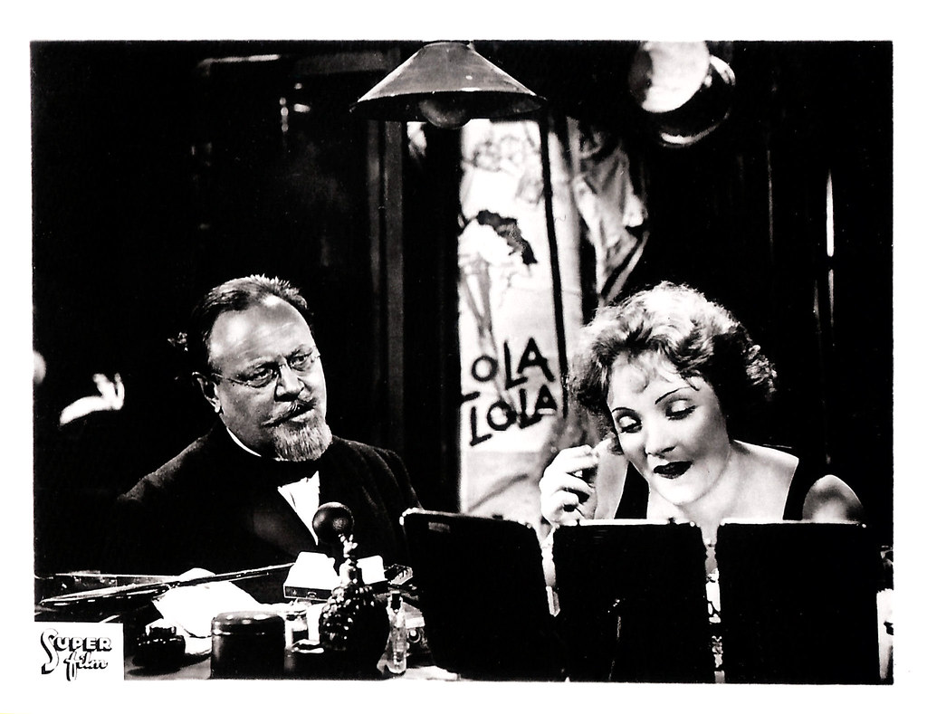 Blau Engel Emil Jannings And Marlene Dietrich In Der Blaue Engel 193 Flickr