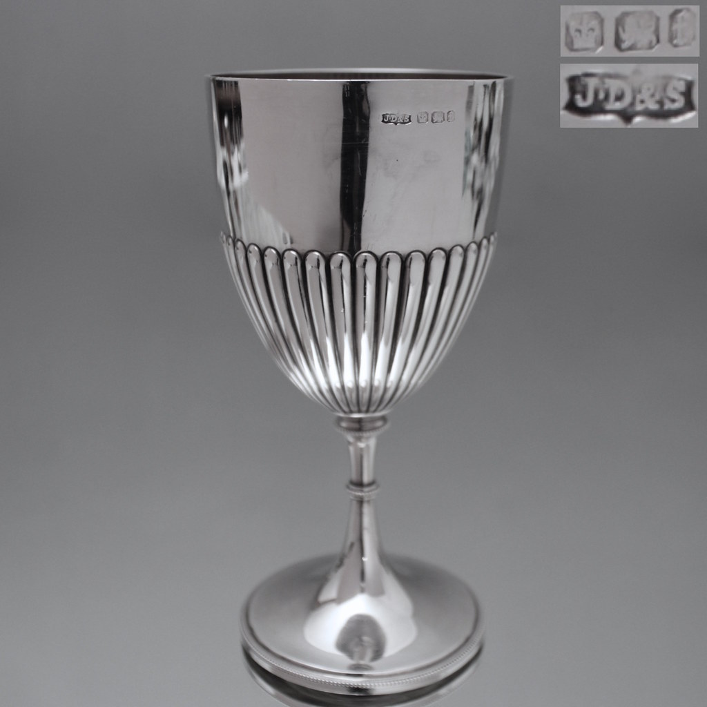 Weinkelch Glas James Dixon Sons Sheffield England Pokal Becher Kel Flickr