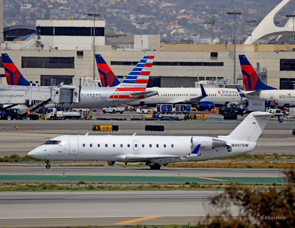 Mesa Airlines Mesa Airlines Cl 600 2016 0328 041 Los Angeles Int L Airpo Flickr