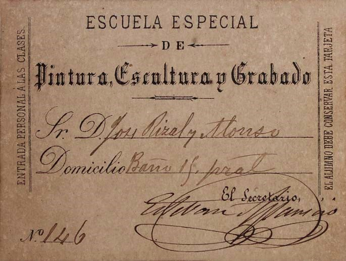 Jose Rizal Student Identification Card José Rizal (1861-1\u2026 Flickr - student identification card