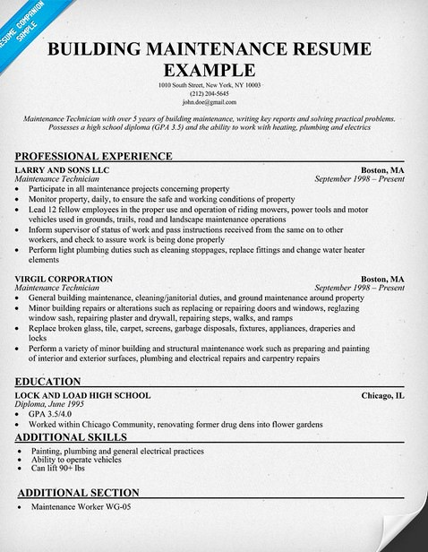 Apartment Maintenance Supervisor Resume Apartment Maintena\u2026 Flickr - Operations Supervisor Resume