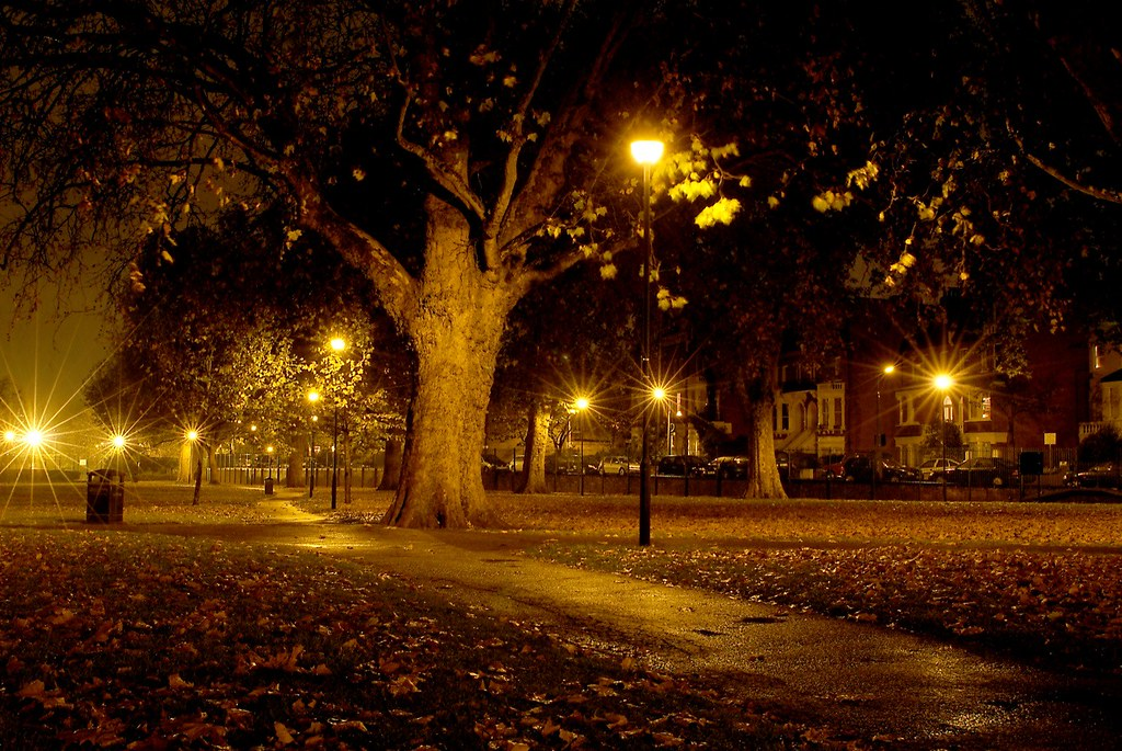 Scary 3d Wallpaper The Scary Park In Fulham Don T Walk Through This Park At