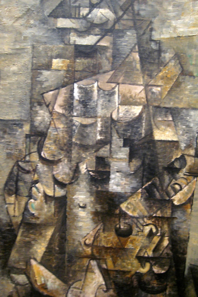 Moma Museum Nyc - Moma: Georges Braque's Man With A Guitar | Man With