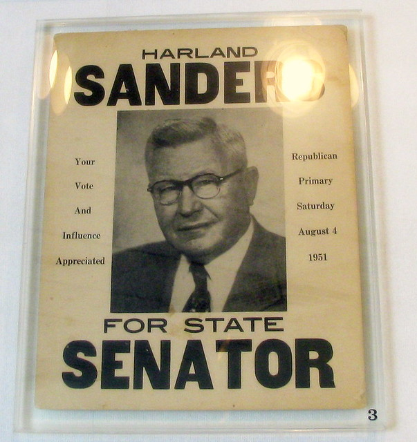 Blogspot Blog Sign In Col Sanders For Senate Very Appropriate For Election