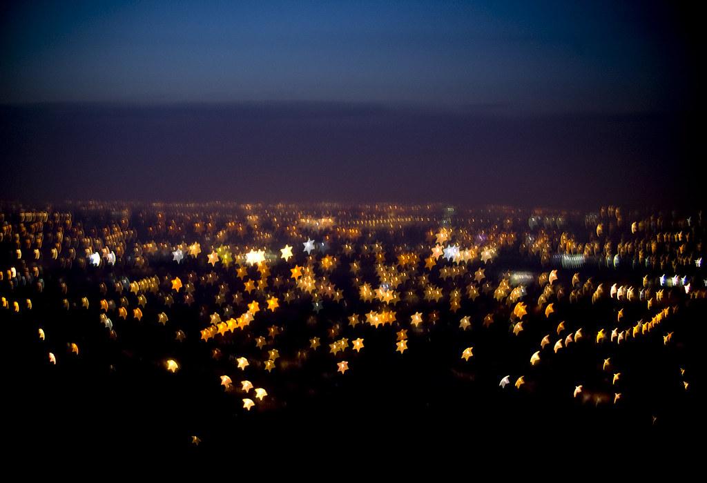 Black Dot Wallpaper Dublin City Lights With Custom Bokeh Bokeh Is An