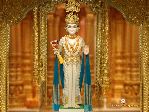 Ghanshyam Maharaj Wallpaper Hd Bhagwan Swaminarayan A Bhagwan Swaminarayan Took Birth
