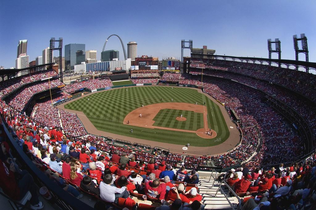 3d Baseball Wallpaper New Busch Stadium St Louis Cardinals My Quest To