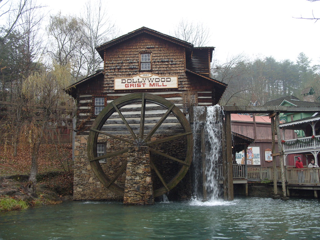 Fall Smoky Mountains Wallpaper 2007 Dollywood Grist Mill Pigeon Forge Tn Built In