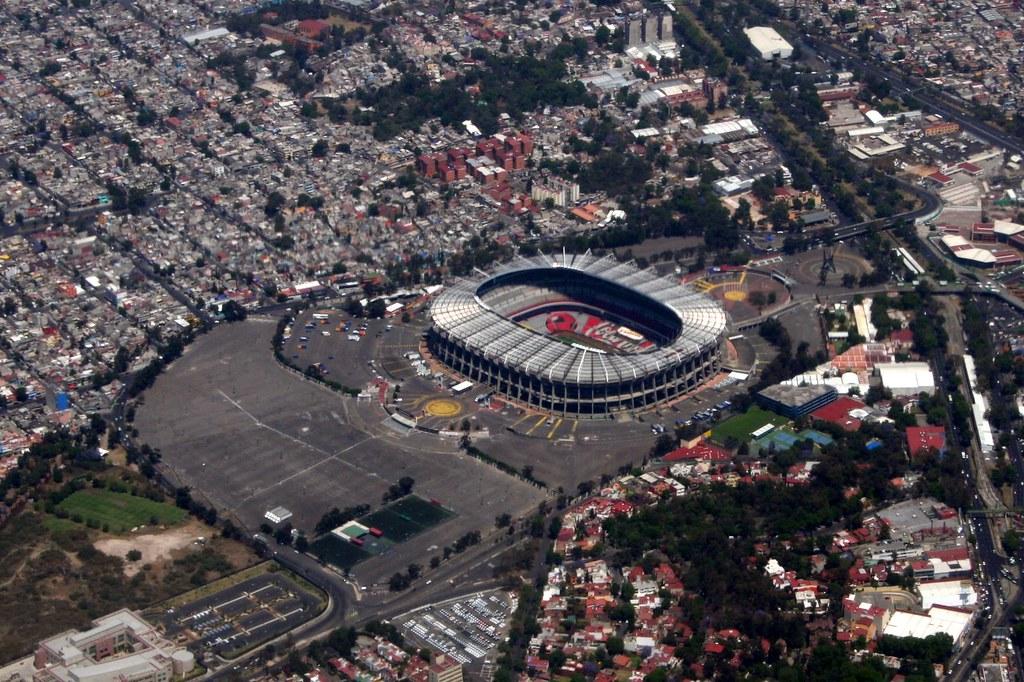 3d Music Wallpaper Estadio Azteca Mexico S Largest Soccer Stadium It Has
