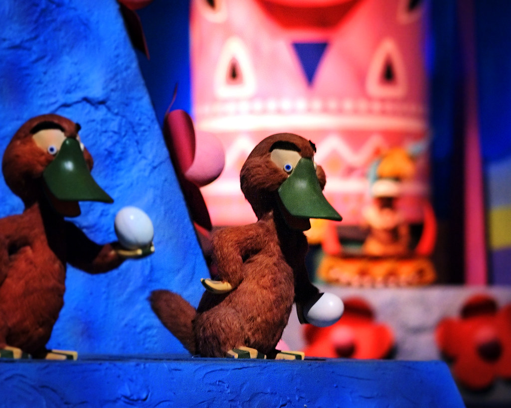 Daily Globo Daily Disney Small World Platypuses I Know I 39m In The