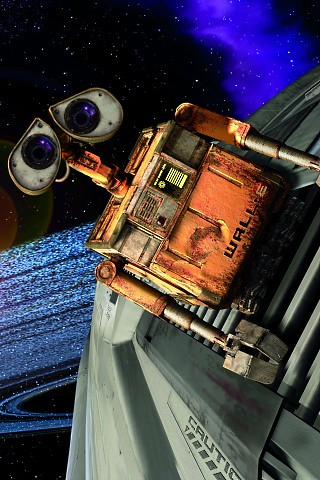 Wall-E iPhone Wallpaper | I have been a huge fan of PIXAR si… | Flickr