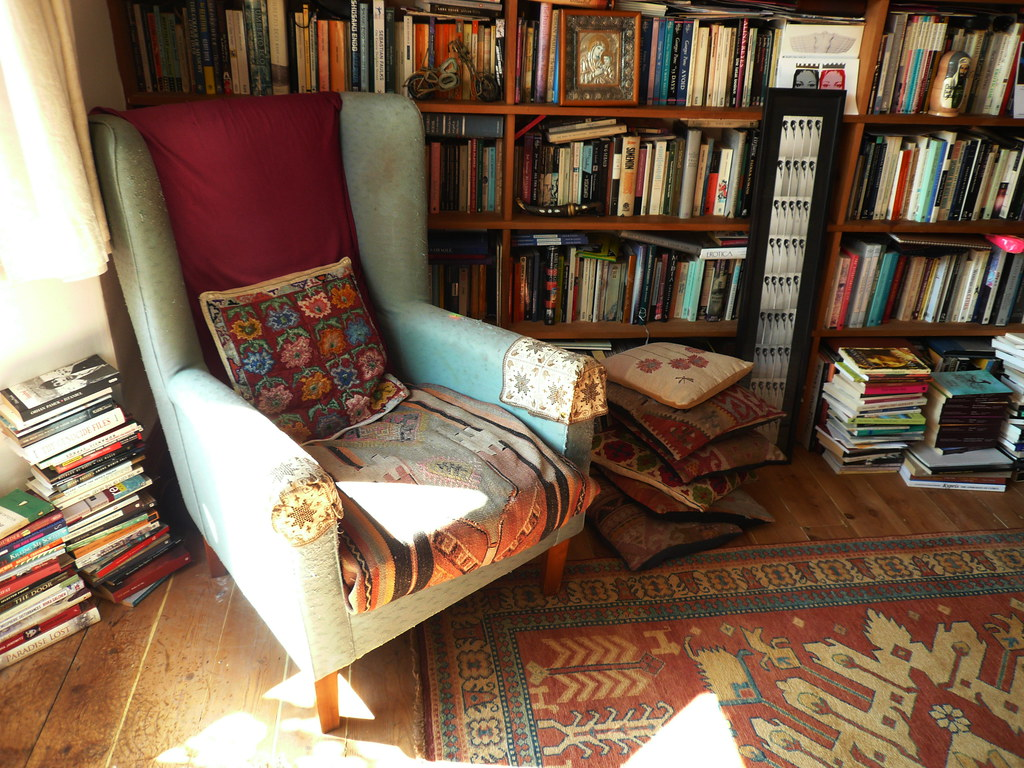 Cute Reading Chairs Home Library Alev Adil Flickr
