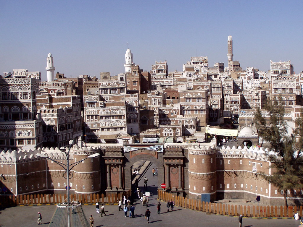 3d 3d Wallpaper Bab Ul Yemen Sana A The Old City Of Sana A Is