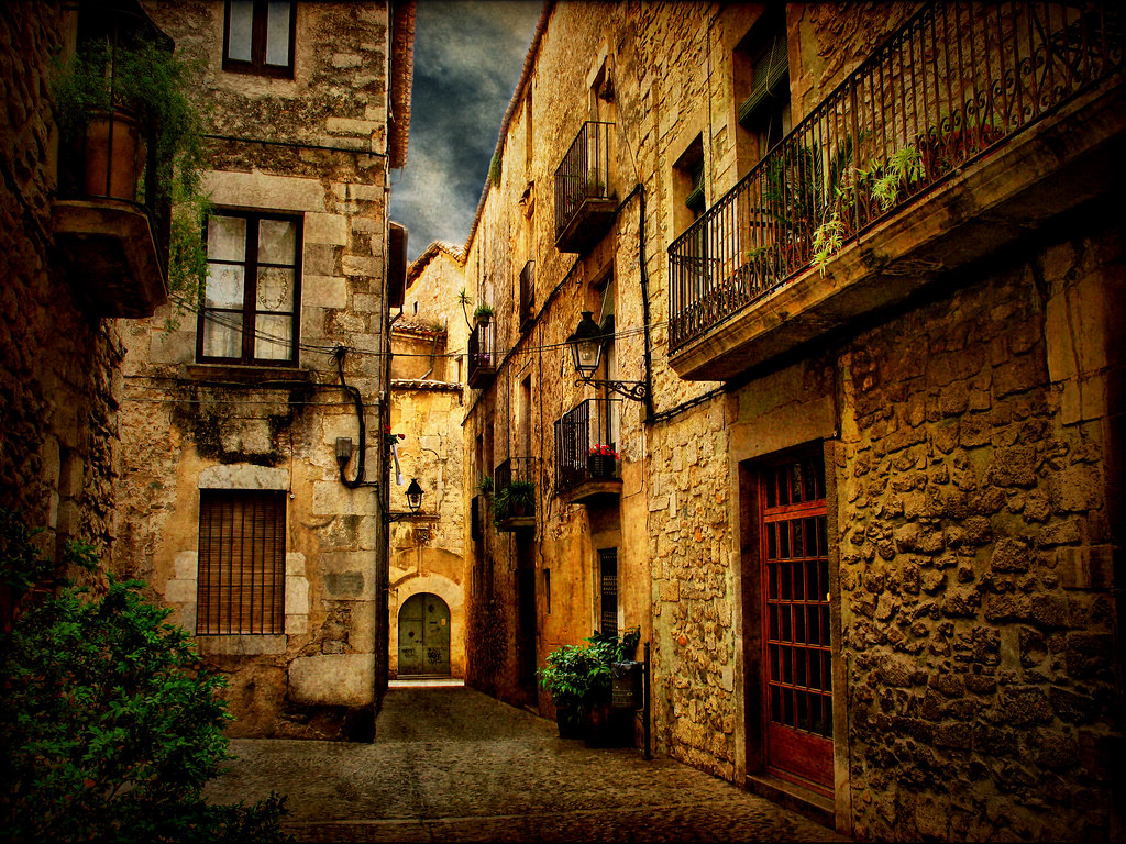 3d Street Wallpaper Streets Of Girona Xiii Another One Of A Series Of