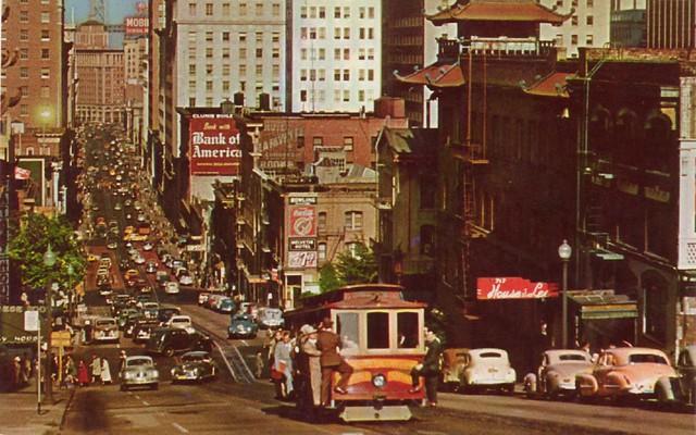 Free Pc Wallpaper 3d San Francisco Cable Car Vintage Postcard Caption On Back