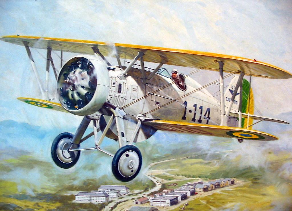 3d Art Mobile Wallpaper Boeing P 12 Ex 233 Rcito Brasileiro Brazilian Army