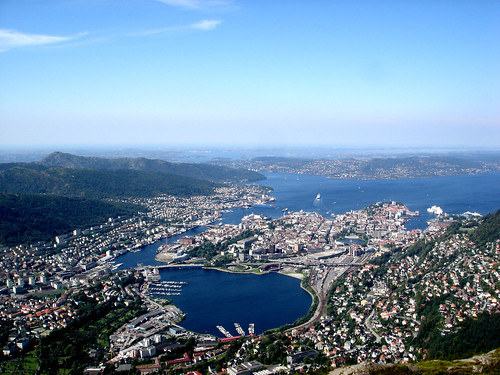 Amazing 3d Wallpapers For Mobile Norway Bergen The Amazing View From Mount Ulriken 643