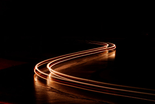 3d Motion Wallpaper For Mobile Fast Car Light Trail 2 Car Head Light Trails Flickr