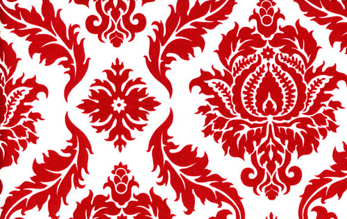As 3d Wallpaper Red Damask Kristen Valenti Flickr
