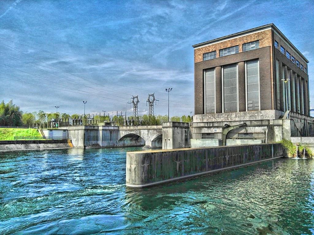 My Photo Wallpaper 3d La Centrale Idroelettrica Di Tornavento Costruita Nel