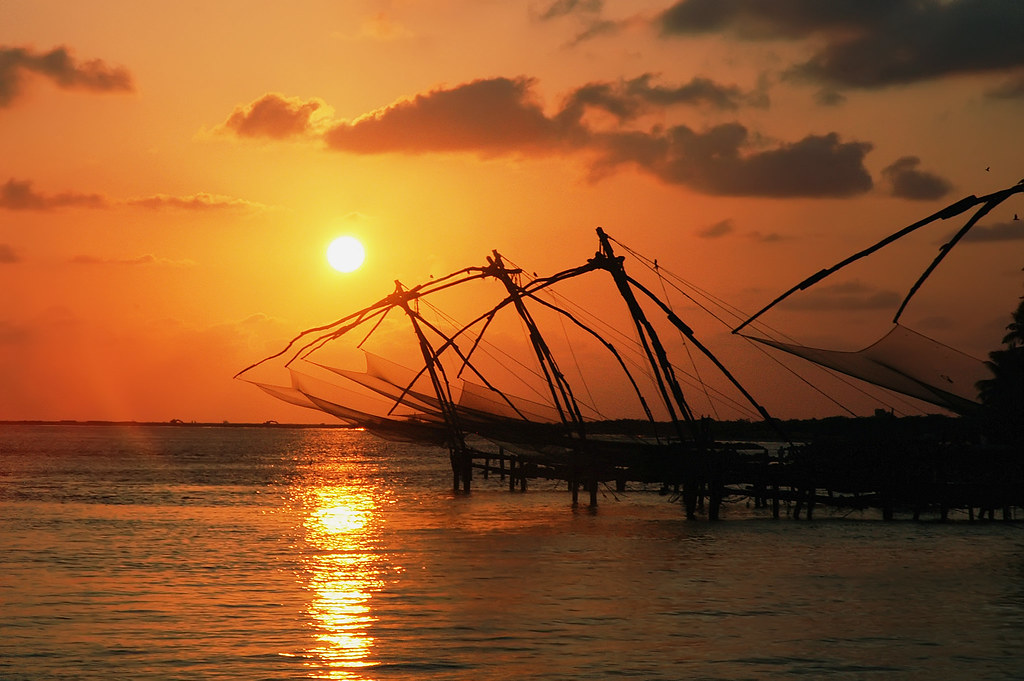 India Wallpaper 3d Hd Chinese Fishing Nets Vyapeen India The Iconic Fishing
