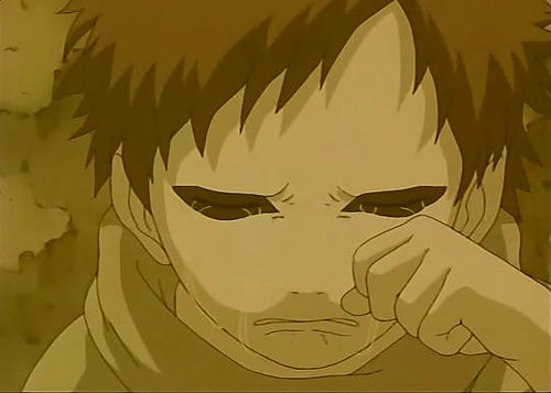 Rock Lee Wallpaper 3d Gaara Crying Porr Gaara No Love Him The Name Is Rock